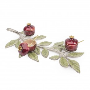 Branch with Mini Pomegranate Bowls