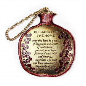 Pomegranate House Blessing Plaque